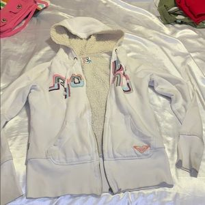 ROXY WOOL ZUP UP HOODIE JACKET